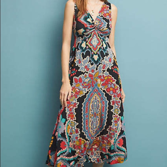 Maeve Dresses & Skirts - ISO Anthropologie Camilla Maxi Dress in size 2X